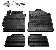 Stingray Модельные автоковрики в салон Тойота Камри В40 2006- Комплект из 4-х ковриков (Черный)