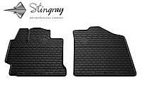 Stingray Модельные автоковрики в салон Тойота Камри В50 2011- Комплект из 2-х ковриков (Черный)