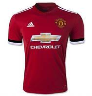 Футбольная форма Манчестер Юнайтед безномерная, домашняя сезон 2017/2018
