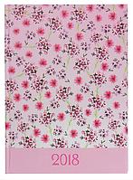 Ежедневник А5 датированный 2018 Buromax Provance, розовый, BM.2161-10