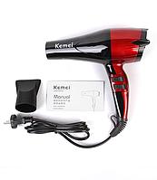 Фен для волос Kemei KM 8893