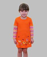 Платье детское с вышивкой от 1 года до 6 лет