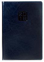 Ежедневник А5 датированный 2018 Buromax Bravo, синий (белый блок) BM.2112-02