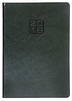 Ежедневник А5 датированный 2018 Buromax Bravo, зеленый (белый блок) BM.2112-04