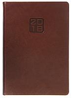 Ежедневник А5 датированный 2018 Buromax Bravo, коричневый (белый блок) BM.2112-25