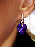 Нарядные серьги с кристаллами Swarovski, фото 3