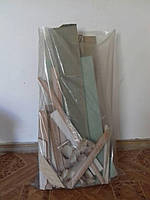 Мешки для бытового и строительного мусора, 100 мкм, 45см*70см