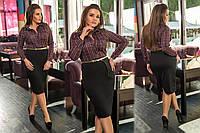 Платье женское с ремешком