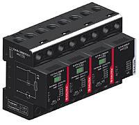 Комбинированный грозовой разрядник УЗИП SALTEK FLP-B+C MAXI VS/3+1