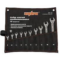 Набор комбинированных ключей 8-24 мм, 10 пр. OMBRA OMT10S
