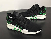 Кроссовки Adidas EQT Support ADV Black-Green-Green 41-44 рр