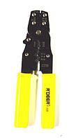 12-0357. Клещи R'Deer RT-202B для опрессовки неизолир.клемм 0,35-5,5мм2