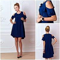 Платье 785 темно синий, фото 1