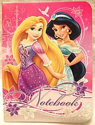 Блокнот «Princess», формат А-6, 24 листа