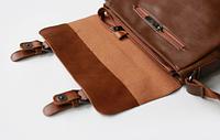 Мужская кожаная сумка. Модель 61223, фото 6