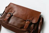 Мужская кожаная сумка. Модель 61223, фото 8
