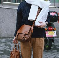 Мужская кожаная сумка. Модель 61223, фото 5