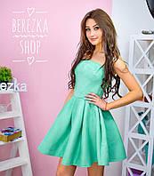 Платье из неопрена с пышной юбкой 0500-3
