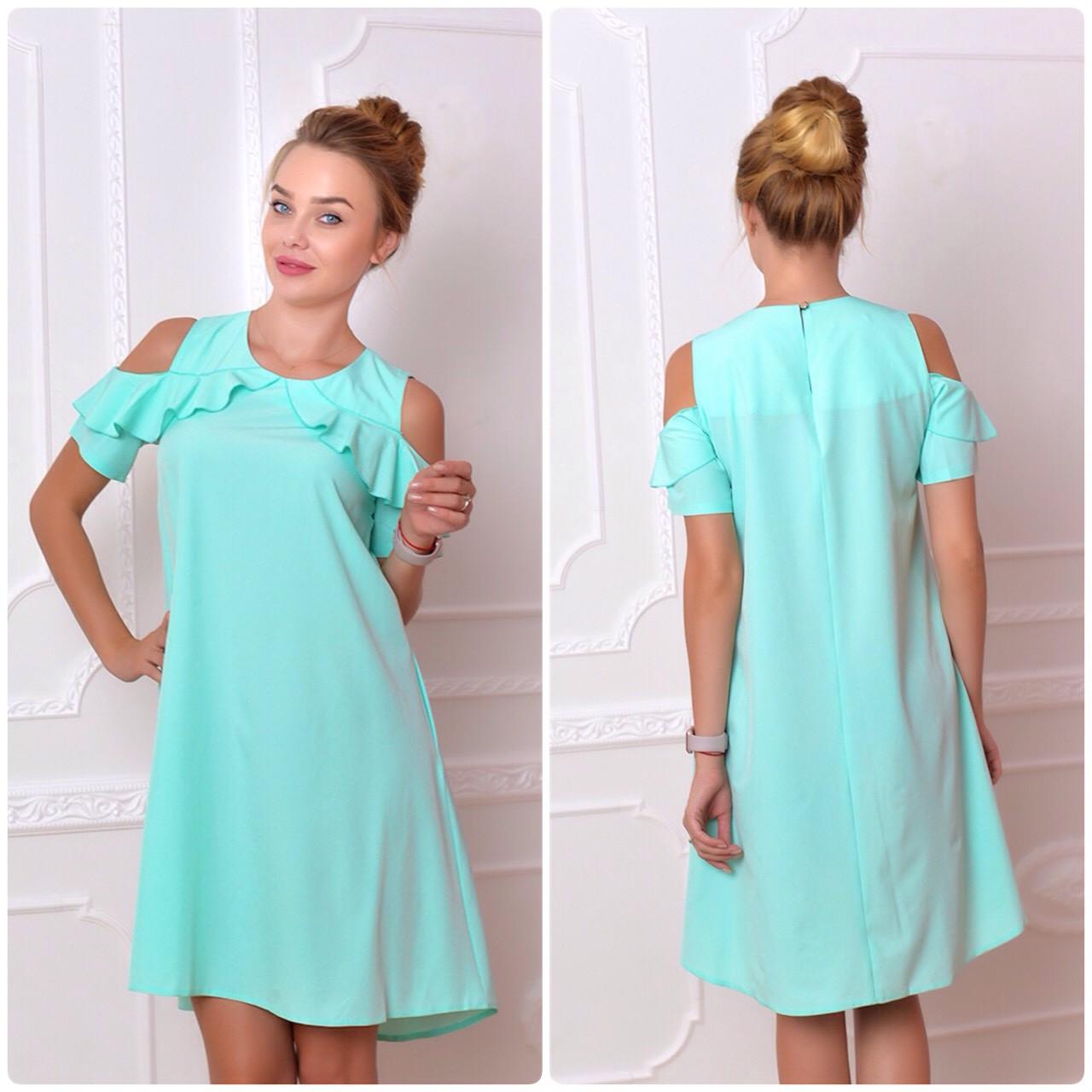 Платье 785 мята