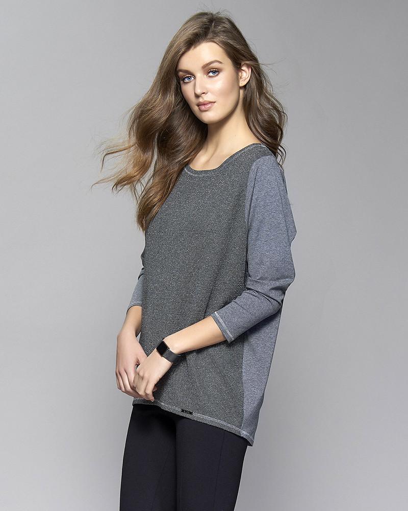 Туника Sargas Zaps серого цвета, коллекция осень-зима
