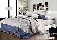 Семейный комплект спального постельного белья из хлопка Ранфорс
