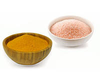 Розовая соль с куркумой 100 г