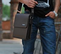 Мужская кожаная сумка. Модель 61225, фото 3