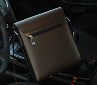 Мужская кожаная сумка. Модель 61225, фото 6