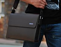 Мужская кожаная сумка. Модель 61225, фото 2