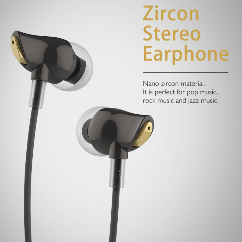 Наушники Rock Zircon Stereo Earphone, фото 1