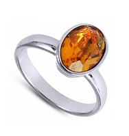 """Кольцо """"Канопус"""" с кристаллами Swarovski, покрытое родием (b025f020)"""