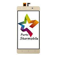 Сенсорный экран для мобильного телефона S-tell P770, золотой