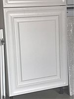 Фасад для кухни в белой эмали