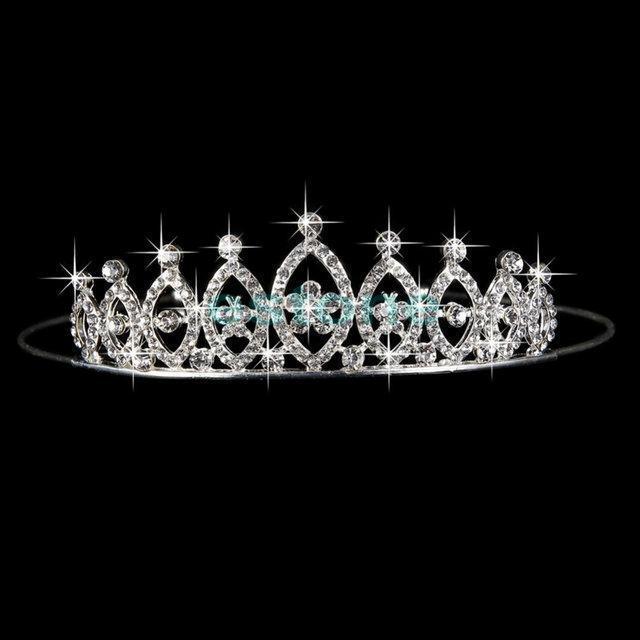 Диадема корона свадебная Сияние