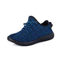 Кроссовки в стиле adidas yeezy boost, синие