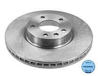Передний тормозной диск Опель Омега Б диам. 296 мм 1994-->2003 Meyle (Германия) 615 521 6009