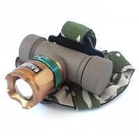 Налобный фонарь Police BL-6866 XPE аккумуляторный