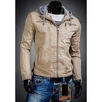 Куртка мужская на молнии с капюшоном
