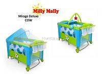 Манеж-кровать Milly Mally Mirage Deluxe