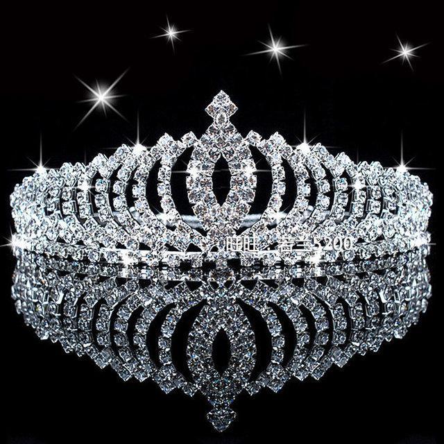 Диадема на голову на свадьбу Императрица - Olimpia Group сувениры и  бижутерия оптом в Киеве e9a172cf28b
