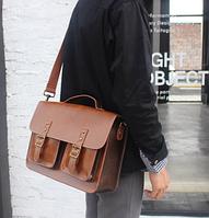 Мужская кожаная сумка. Модель 61228, фото 7
