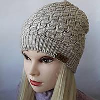 Женские шапки зима на флисе Г 3