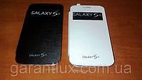 "Samsung Galaxy S 4 i 9500 (1 сим карта) экран 5"" + и чехол-книжка!"