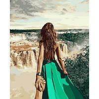 """Картина раскраска по номерам """"Следуй за мной. Бразилия"""" набор для рисования"""