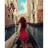 """Картина раскраска по номерам """"Следуй за мной. Венеция"""" набор для рисования"""