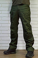 Тактические брюки, штаны мужские из плотного 100% хлопка.