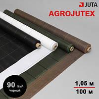 Агроткань черная AGROJUTEX 90 размер 1,05х100