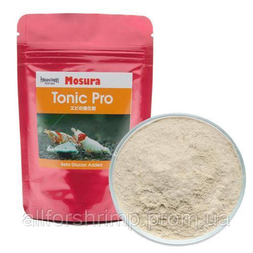 Mosura Tonic Pro, пищевая добавка для повышения устойчивости иммунитета креветки к вирусам и бактериям, 5г.