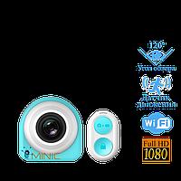 Мини камера G1 (iShare) Wi-Fi 1920x1080 H.264 с пультом мощным аккумулятором и углом обзора 120°