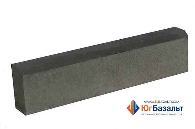 Поребрик прессованный 80 мм, серый